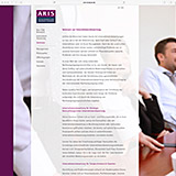 Website Screenshot 4 - Kunden - ARIS GmbH – Aktien-Research und Investment-Steuerung