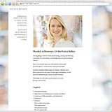 Website Screenshot 1 - Kunde - Evelyn Kälker - Personalentwicklung, Supervision, Coaching