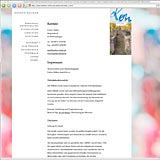 Website Screenshot 5 - Kunde - Evelyn Kälker - Personalentwicklung, Supervision, Coaching