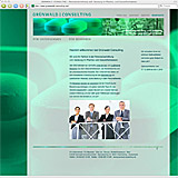 Website Screenshot 1 - Kunde - Grünwald Consulting
