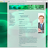 Website Screenshot 4 - Kunde - Grünwald Consulting