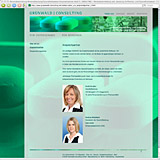Website Screenshot 5 - Kunde - Grünwald Consulting