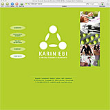 Website Screenshot 1 - Kunde - Karin Ebi - Clinical Research Associate, CRA, Monitor