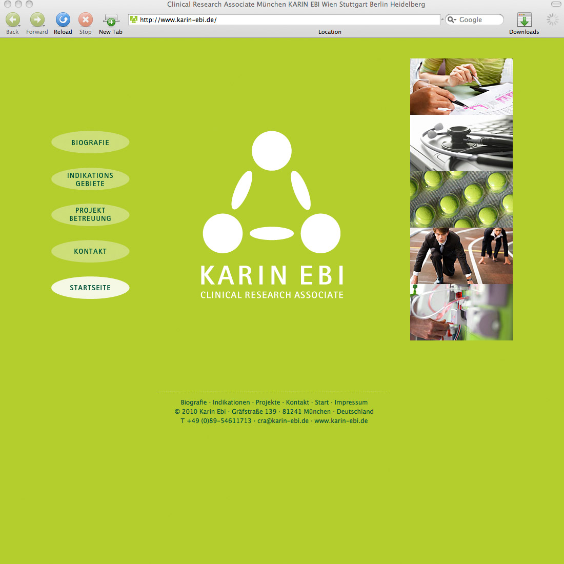 Karin Ebi – Clinical Research Associate, CRA, Monitor