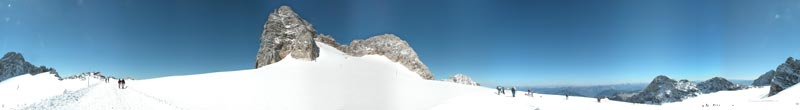 Dachstein, Austria - panorama - click to open it in a new window